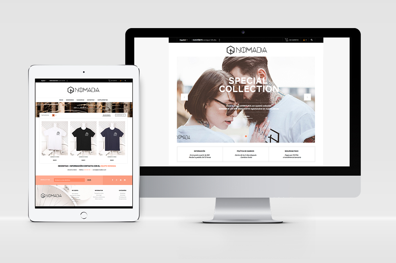 pagina web nomada
